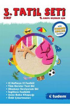 Tudem Yayınları 3. Sınıf Tatil Seti