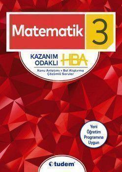 Tudem Yayınları 3. Sınıf Matematik Kazanım Odaklı HBA