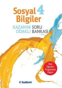 Tudem Yayınları 4. Sınıf Sosyal Bilgiler Kazanım Odaklı Soru Bankası