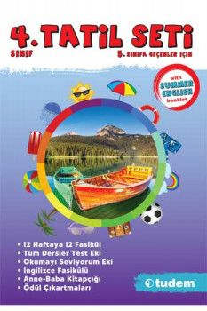 Tudem Yayınları 4. Sınıf Tatil Seti