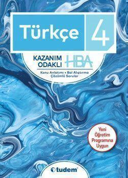 Tudem Yayınları 4. Sınıf Türkçe Kazanım Odaklı HBA