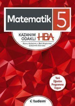 Tudem Yayınları 5. Sınıf Matematik Kazanım Odaklı HBA