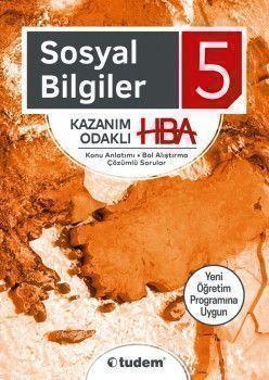 Tudem Yayınları 5. Sınıf Sosyal Bilgiler Kazanım Odaklı HBA