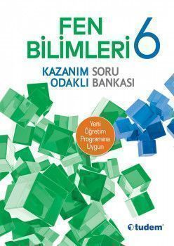 Tudem Yayınları 6. Sınıf Fen Bilimleri Kazanım Odaklı Soru Bankası