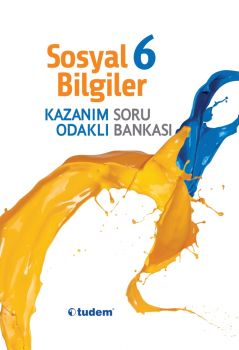 Tudem Yayınları 6.Sınıf Sosyal Bilgiler Kazanım Odaklı Soru Bankası