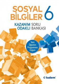 Tudem Yayınları 6. Sınıf Sosyal Bilgiler Kazanım Odaklı Soru Bankası
