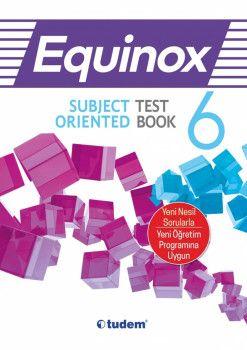 Tudem Yayınları 6. Sınıf Equinox Subject Oriented Test Book