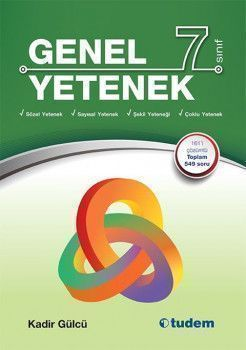 Tudem Yayınları 7. sınıf Genel Yetenek