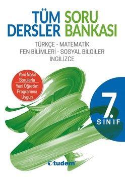 Tudem Yayınları 7. Sınıf Tüm Dersler Soru Bankası
