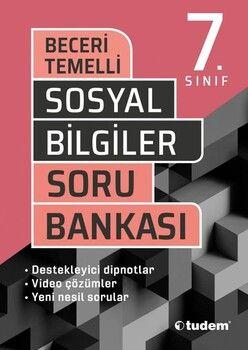 Tudem Yayınları 7. Sınıf Sosyal Bilgiler Beceri Temelli Soru Bankası