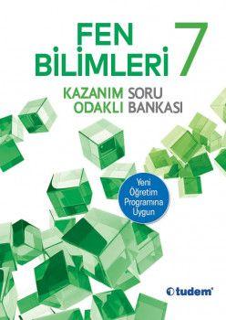 Tudem Yayınları 7. Sınıf Fen Bilimleri Kazanım Odaklı Soru Bankası