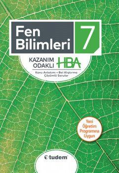 Tudem Yayınları 7. Sınıf Fen Bilimleri Kazanım Odaklı HBA