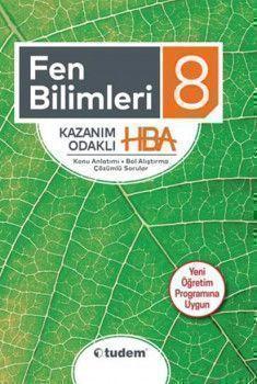Tudem Yayınları 8. Sınıf Fen Bilimleri Kazanım Odaklı HBA