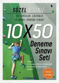 Tudem Yayınları 8. Sınıf Sözel 10x50 Deneme Sınavı Seti