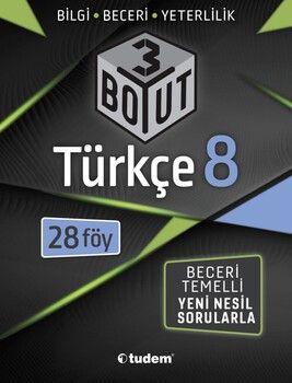 Tudem Yayınları 8. Sınıf Türkçe 3 Boyut 28 li Föy