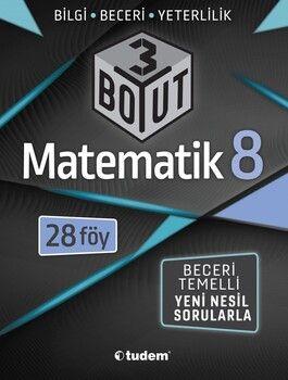 Tudem Yayınları 8. Sınıf Matematik 3 Boyut 28 li Föy