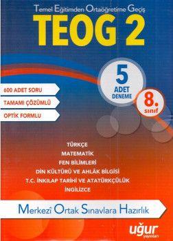 Uğur Yayınları 8. Sınıf TEOG 2 5 Adet Deneme