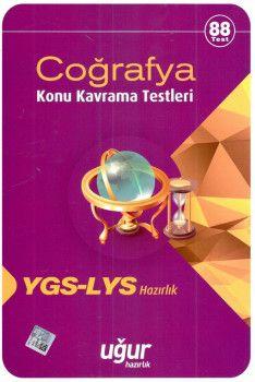 Uğur Yayınları YGS LYS Coğrafya Konu Kavrama Testleri