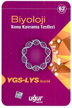 Uğur Yayınları YGS LYS Biyoloji Konu Kavrama Testleri