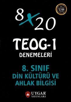 Uygar Yayınları 8. Sınıf TEOG 1 Din Kültürü ve Ahlak Bilgisi 8X20 Deneme