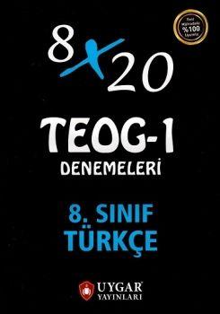 Uygar Yayınları 8. Sınıf TEOG 1 Türkçe 8X20 Deneme