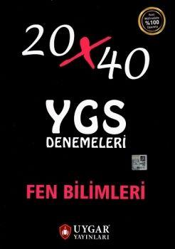 Uygar Yayınları YGS Fen Bilimleri 20x40 Deneme