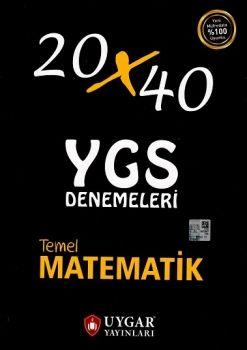 Uygar Yayınları YGS Temel Matematik 20x40 Deneme