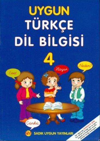 Uygun Türkçe Dil Bilgisi 4.Sınıf