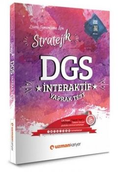 Uzman Kariyer 2017 DGS Stratejik İnteraktif Yaprak Test