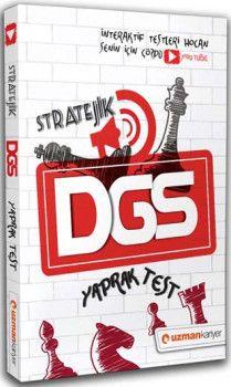 Uzman Kariyer 2019 DGS Stratejik İnteraktif Çözümlü Yaprak Test