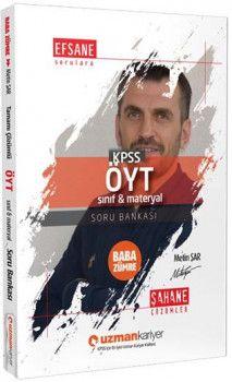 Uzman Kariyer 2019 KPSS Baba Zümre ÖYT Sınıf Materyal Soru Bankası