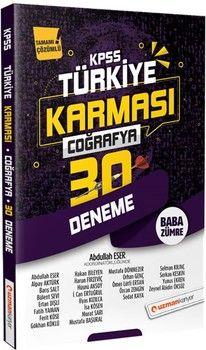 Uzman Kariyer 2020 KPSS Coğrafya Türkiye Karması 30 Deneme