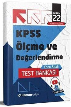 Uzman Kariyer 2022 KPSS Eğitim Bilimleri Ölçme ve Değerlendirme Test Bankası Yaprak Test