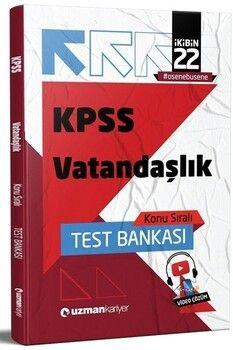 Uzman Kariyer 2022 KPSS Vatandaşlık Test Bankası