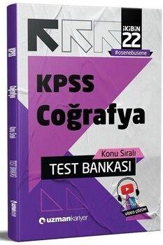 Uzman Kariyer 2022 KPSS Coğrafya Test Bankası