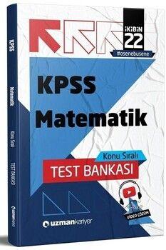 Uzman Kariyer 2022 KPSS Matematik Test Bankası