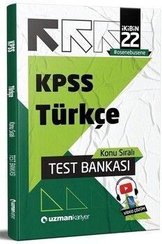 Uzman Kariyer 2022 KPSS Türkçe Test Bankası