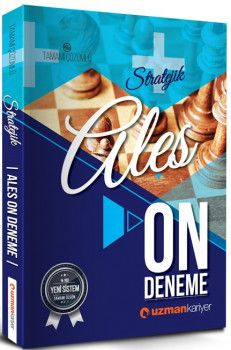Uzman Kariyer ALES Stratejik Tamamı Çözümlü 10 Deneme Sınavı