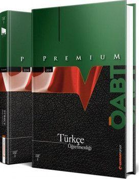 Uzman Kariyer ÖABT Premium Türkçe Öğretmenliği Konu Anlatımlı Modüler Set 2 Cilt