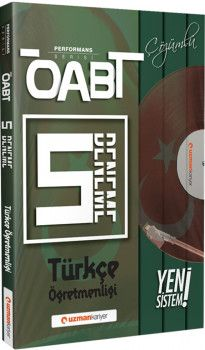 Uzman Kariyer ÖABT Türkçe Öğretmenliği 5 Deneme