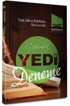 Uzman Kariyer ÖABT Türk Dili ve Edebiyatı Öğretmenliği Çözümlü 7 Deneme