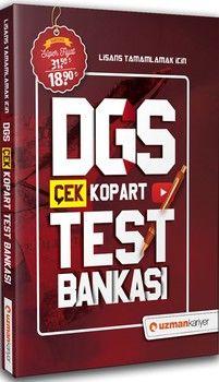 Uzman Kariyer DGS Çek Kopart Test Bankası