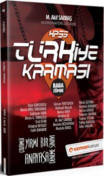 Uzman Kariyer KPSS Anayasa Türkiye Karması Baba Zümre 21 Deneme