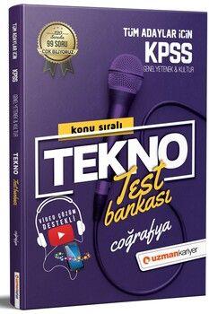 Uzman Kariyer KPSS Coğrafya Tekno Konu Test Bankası