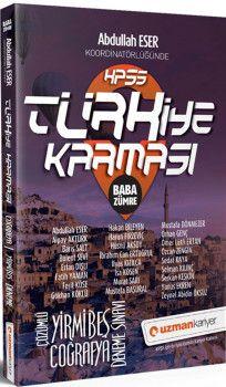 Uzman Kariyer KPSS Coğrafya Türkiye Karması Baba Zümre 25 Deneme