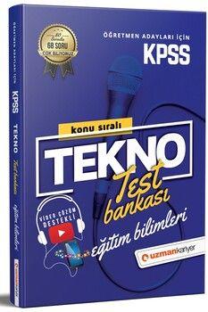Uzman Kariyer KPSS Eğitim Bilimleri Tüm Dersler Tekno Konu Konu Test Bankası