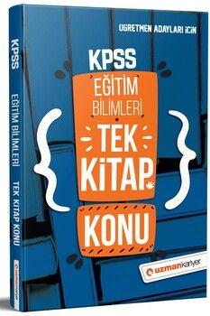 Uzman Kariyer KPSS Eğitim Bilimleri Tek Kitap Konu Anlatımlı