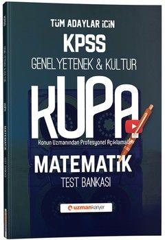 Uzman Kariyer KPSS Genel Yetenek Genel Kültür Kupa Matematik Test Bankası