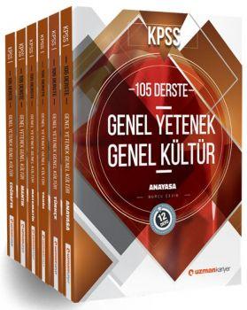 Uzman Kariyer KPSS Genel Yetenek Genel Kültür Konu Anlatımlı Modüler Set
