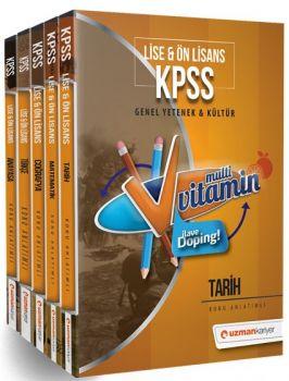 Uzman Kariyer KPSS Lise Ön Lisans Multi Vitamin Modüler Set